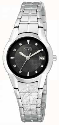 Citizen Women's Eco-Drive Silhouette Stainless Steel EW1410-50E