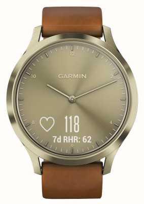 Garmin Vivomove HR (Small/Medium) Premium Activity Tracker Gold 010-01850-05