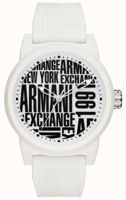 Armani Exchange Mens Atlc Silicone Strap AX1442