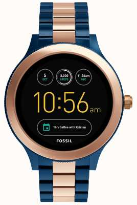 Fossil Womens Q Venture Stainless Steel Strap FTW6002