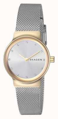 Skagen Womens Freja Stainless Steel Mesh Strap SKW2666