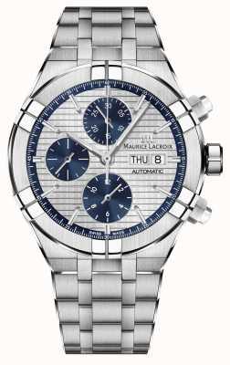 Maurice Lacroix Aikon Chronograph Automatic Manufacture Movement Watch AI6038-SS002-131-1