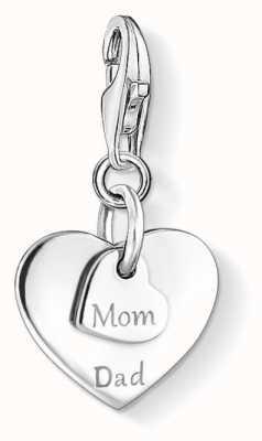 Thomas Sabo Mom & Dad Hearts Charm 1452-001-21