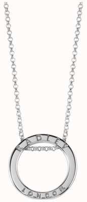 Radley Jewellery Esher Street Silver Circle Necklace RYJ2003