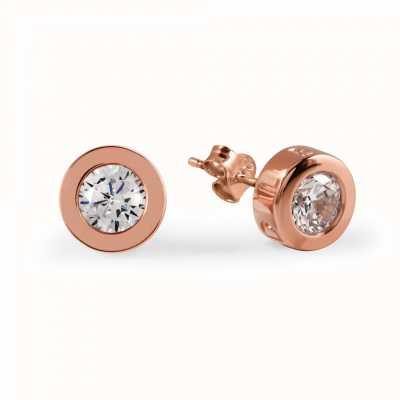 Radley Jewellery Fountain Road Rose Gold Plated Stud Earrings RYJ1000