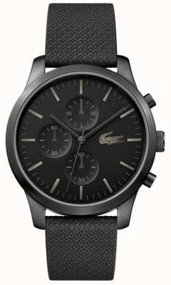 Lacoste Mens 12.12 85th Anniversary Triple Black Watch 2010947