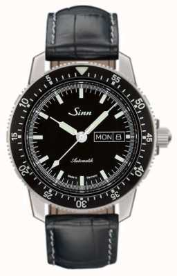 Sinn 104 St Sa I Classic Pilot Watch Alligator Embossed Leather 104.010-BL44201851001225401A