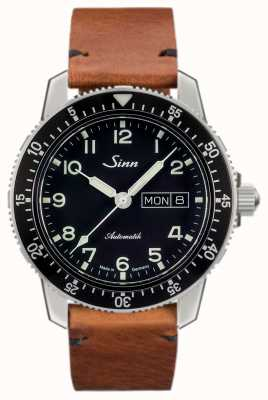 Sinn 104 St Sa A Classic Pilot Watch Light Brown Vintage Cowhide 104.011-BL50205002401A