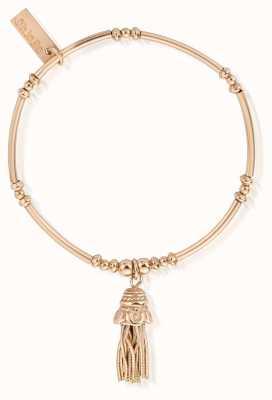 ChloBo Gold Didi Tassel Bracelet RBMN338