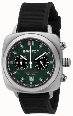 Briston Clubmaster Sport British Green Matt Black Strap 16142.S.SP.16.RB