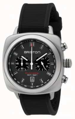 Briston Clubmaster Sport Black Rubber Grey Matt Dial 16142.S.SP.17.RB