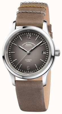 Muhle Glashutte Lunova Lady Slate Grey Dial Leather Strap M1-43-36-LB