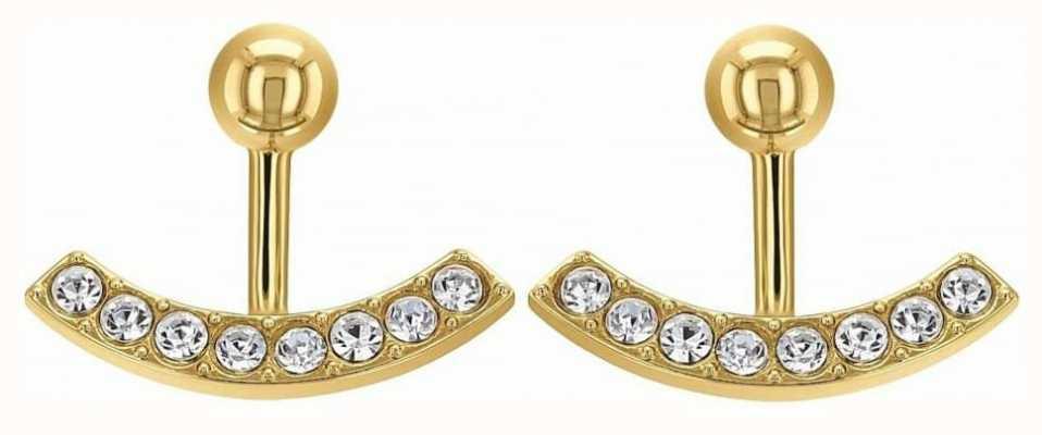 Tommy Hilfiger Womens Ear Jacket Earrings Gold Tone 2780029