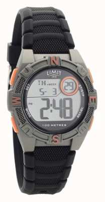 Limit Mens Black Rubber Strap Digital/Analogue Watch 5695.71