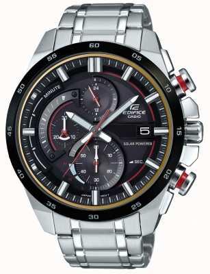 Casio Mens Edifice 3D Chronograph Solar Powered Watch EQS-600DB-1A4UEF