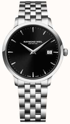 Raymond Weil Mens Toccata Stainless Steel Black Dial 5488-ST-20001