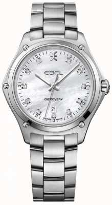 EBEL Women's Diamond Discovery Mother Of Pearl Stainless Steel 1216394
