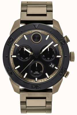 Movado Mens Bold IP-Plated Bracelet Sports Chronograph 3600513
