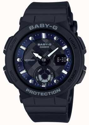 Casio Baby-G Black Strap Beach Traveler BGA-250-1AER