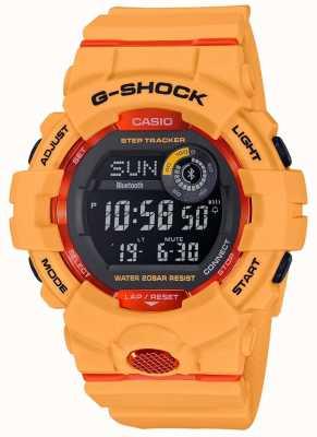Casio G-Squad Orange Digital Bluetooth Step Tracker GBD-800-4ER