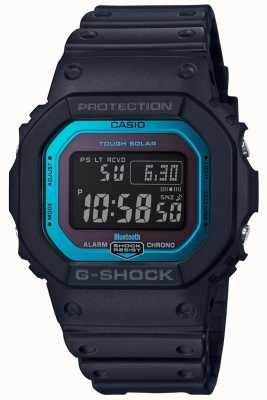 Casio G-Shock Bluetooth Radio Controlled Resin Band Black/Blue GW-B5600-2ER