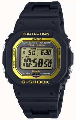 Casio G-Shock Bluetooth Radio Controlled Composite Band Black/Yel GW-B5600BC-1ER