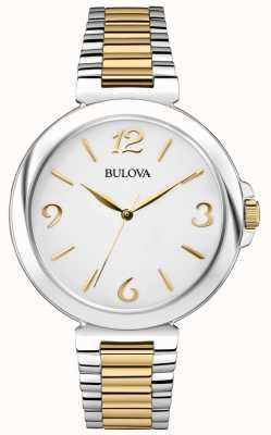 Bulova Women's Two Tone Stainless Steel Dress Watch 98L194