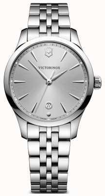 Victorinox Swiss Army Alliance 35mm Silver Dial Stainless Steel Bracelet 241828