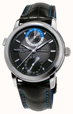 Frederique Constant Hybrid Manufacture 3.0 Automatic Smartwatch Black Strap FC-750DG4H6