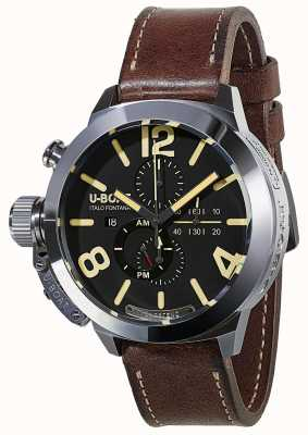 U-Boat Classico 50 Tungsteno CAS1 Movelock Automatic Brown Leather 8077