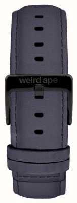 Weird Ape Blue Violet Suede 20mm Strap Black Buckle ST01-000079