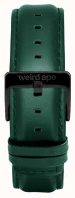 Weird Ape Dark Teal Leather 20mm Strap Black Buckle ST01-000075