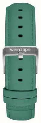 Weird Ape Jade Green Suede 16mm Strap Silver Buckle ST01-000060