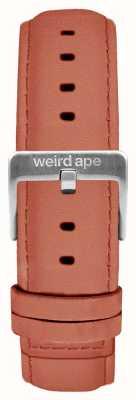 Weird Ape Rose Pink Suede 16mm Strap Silver Buckle ST01-000052