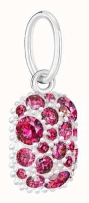 Chamilia Galaxy Birthstone Charm January Red 2025-2494