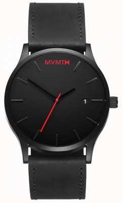 MVMT Classic Black Leather | Black Strap | Black Dial D-L213.5L.551