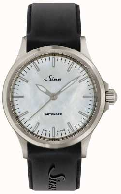 Sinn 556 I Mother Of Pearl W Silicone Strap 556.0102 SILICONE