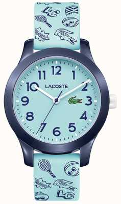 Lacoste 12.12 Kids Turquoise Strap And Dial 2030013