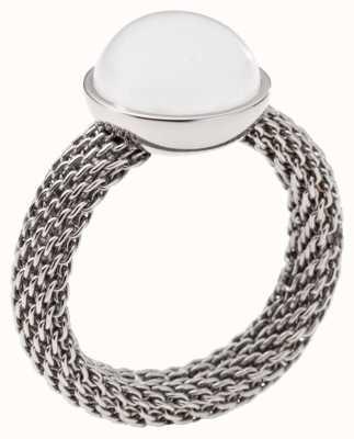 Skagen Ladies Stainless Steel Seas Ring Medium SKJ0081040505