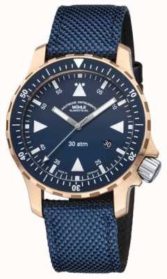 Muhle Glashutte Mens Limited Edition Yacht-Timer Bronze Case M1-41-72-NB