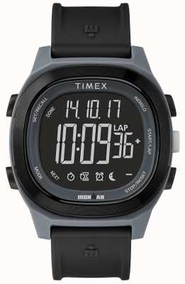 Timex Iron Man Essential Black Watch With Negative Display TW5M19000SU