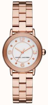 Marc Jacobs Womens Riley Watch Rose Gold Tone (No box) MJ3474