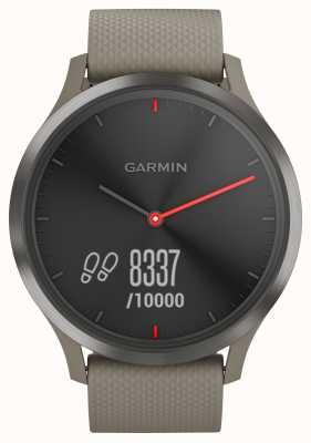 Garmin Vivomove HR Activity Tracker Sandstone Strap Black Dial 010-01850-03