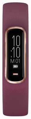 Garmin Vivosmart 4 HR Ox Tracker Small/Medium Purple Rose Gold Case 010-01995-01