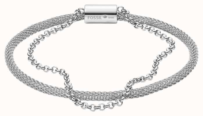 Fossil Womens Stainless Steel Bracelet JF03023040