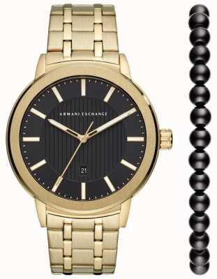 Armani Exchange Mens Urban Watch Gift Set AX7108
