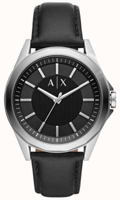 Armani Exchange Mens Dress Watch Black Strap AX2621