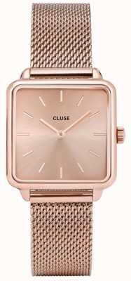 CLUSE La Graconne Rose Gold Mesh Watch CL60013