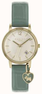 Radley Ladies Watch Clove Strap And Gold Case RY2722