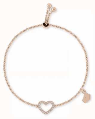 Radley Jewellery Rpse Gold Heart Friendship Bracelet RYJ3030